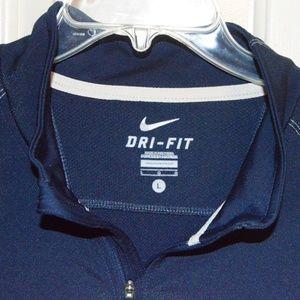 Nike Dri-fit 1/4 Zip running/golf shirt sz Large